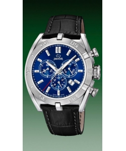 Jaguar Watch J857/8 Executive Leather Blue Dial