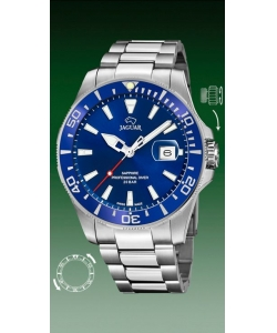 Jaguar Watch J860/C Executive Silver Blue