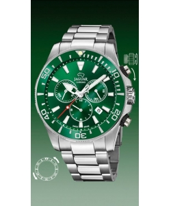 Jaguar Watch J861/4 Executive Silver Green