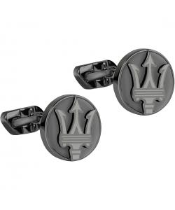 Maserati Gemelos para hombre JM416AIL05 Colecci/ón J en acero