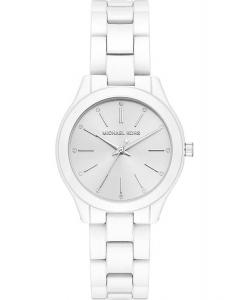 Reloj Michael Kors MK3908 Slim Runway Blanco