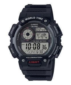 Casio Watch AE-1400WH-1AVEF World Time