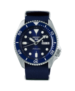 Seiko 5 Sports Watch SRPD51K2 Automatic Blue