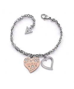 Guess Bracelet UBB78095-S Heart Warming