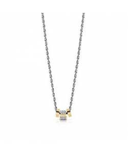 Guess Necklace UBN78039 Love Knot