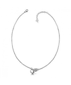 Guess Necklace UBN78055 Embrace Steel