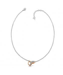 Guess Necklace UBN78057 Embrace Steel