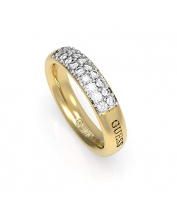Guess Ring UBR78020-56 Acero Golden