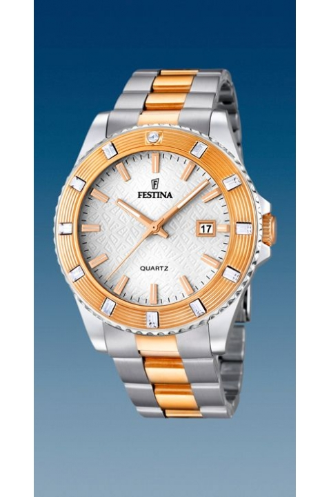 Festina Watch F16687/1 Two-Tones Outlet