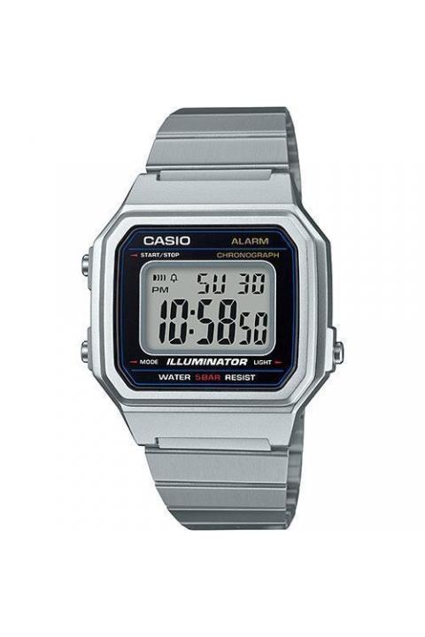 b59512a6f07a Reloj Casio B650WD-1AEF Retro Plateado