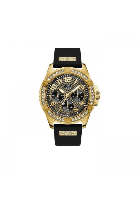 c39f385a4806 Reloj Guess W1132G1 Frontier Negro Dorado